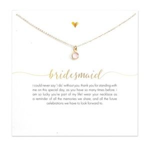 Jewelry - Bridesmaid necklace gifts-Set of 5